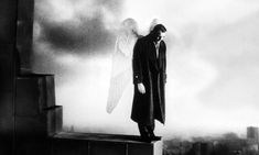 In Wim Wenders' film Wings of Desire, angels tire of their lofty, invulnerable lives and long to become mortal. Wim Wenders Film, Lebanese Civil War, Conscientious Objector, Wings Of Desire, Lars Von Trier, Dennis Hopper, Willem Dafoe, Francis Ford Coppola, Count Dracula