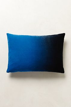 Ombre Velvet Pillow - anthropologie.com #anthrofave