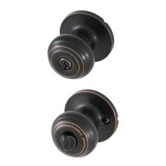 $18.98 Honeywell privacy knob set with lock