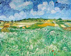 Champ de blé - Vincent VAN GOGH - juillet 1890