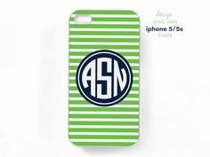 New to TheMonogramLine on Etsy: monogram iphone 5 5s cover  design your own (15.95 USD)