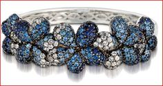 A bangle (bracelet) from Levian's Ziba collection...totally amazing.