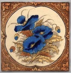 Victorian Polychrome Ceramic Tile