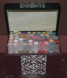 In this tutorial I show you how I make my own glimmer mists. I store them in this recipe box I got from Michaels. It was unfinished when I...
