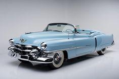 Countdown to Barrett-Jackson Scottsdale: 1953 Cadillac Eldorado convertible Cadillac Eldorado, Cadillac Ats, Retro Cars, Vintage Cars, Antique Cars, Convertible, Woody Wagon, Us Cars, Chevy Trucks