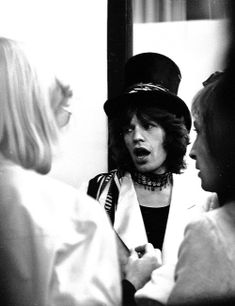 "voodoolounge:  """" #TIMELESSTIME ➪ Mick Jagger backstage before one of their show of the Rolling Stones' 1970 European Tour. © Chris Walter.  "" """