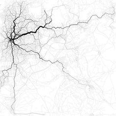 'Paths through Madrid', de Eric Fischer