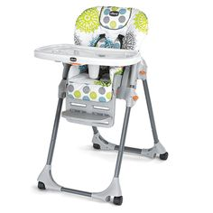 So cute!  Ordering this one for Lily today.    Chicco Polly High Chair - Zest