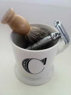 Shaving Mug from Anthropologie
