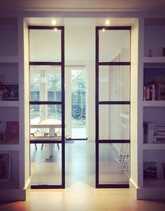 steel doors in ensuite cupboard design ww interior styling & advice - steel doors in ensuite cupboard design ww interior styling & advice - Style At Home, Home Interior, Interior Design, Interior Doors, Sliding Doors, Front Doors, Barn Doors, Home Fashion, Windows And Doors