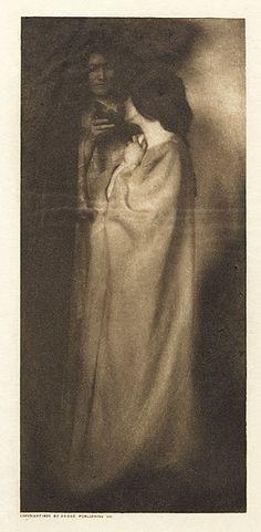 Plate XIII  Hanscom, Adelaide, b.1876-1932  The Rubaiyat of Omar Khayyam, 1905  6.4 x 14.2 cm  Photogravure
