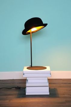 nog zo'n hoed lampje