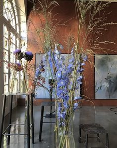 Claire Basler, Botanical Interior, Estilo Interior, Flower Artists, 10 Picture, Impressionist Art, Land Art, French Artists, Floral Style