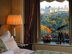 This newer Ritz-Carlton (on the Park) in  New York, my idea of a luxurious retreat.  A much needed improvement over the former, smaller place down the block. Considering the location, the views and the wonderfully gracious Salon on the ground floor,,, it's a treasure and a 'Must Stay'!