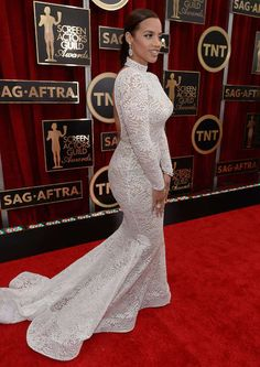 a69ed9ed8f7 Dascha Polanco at 2015 Screen Actors Guild Awards... Black Women Fashion