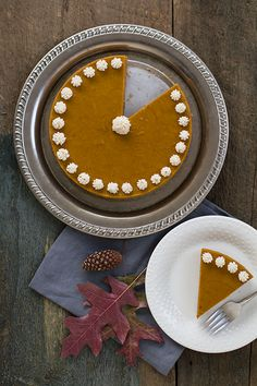 Pumpkin Spice Cake with Gingersnap Crust - Autoimmune paleo.  I will have to figure out a lower carb crust for this one.  Mmmm..