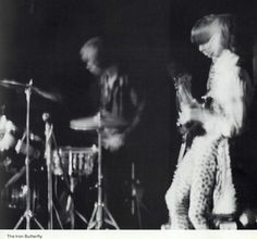 The Iron Butterfly perform at the UO in 1969. From the 1969 Oregana (University of Oregon yearbook). www.CampusAttic.com