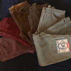 Levi's Vintage Corduroy Pants. #standardcalifornia #スタンダードカリフォルニア #levis #vintage #corduroy #pants #519 #505