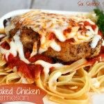 Six Sisters Easy Chicken Parmesan