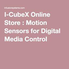 I-CubeX Online Store : Motion Sensors for Digital Media Control