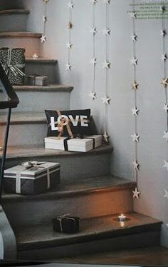 ,Hanging Stars for Stairs