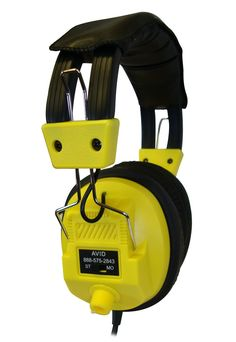 AVID Education AE-808 Yellow Classroom & Library Stereo/Mono Headphone Volume Our most popular AVID headphones in the educational market is the AE-80 line. - They are extremely durable as well as versatile. - They all feature padded vinyl headbands and earpads for extra comfort and easy cleaning. - Ideal for the classroom, library and more.    Our Price: $12.99 Retail: $20.99 You Save: $8.00!