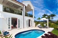 3 Bedroom Villa in Royal Westmoreland Golf Resort to rent from £1080 pw, within 15 mins walk of a Golf course, with a private pool. Also with balcony/terrace, air con, Telephone, TV and DVD.