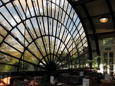 The Imperial by Day. This is the main window of a wonderful conservatory in a brilliant pub in Exeter. Possibly worked on by Isambard Kingdom Brunel.