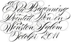 Gorgeous pointed pen work by Barbara Calzolari.