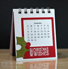 Desktop Calendar by Amy Kolling for LID