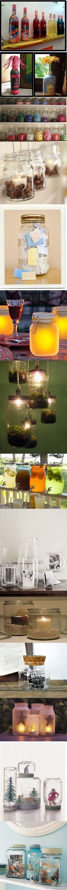 Jar decoration - absolutely love it!