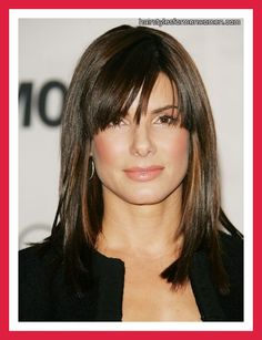 Hairstyles For 40 Year Olds | hairstyles with bangs for 40 year olds- not that I'm anywhere near 40...