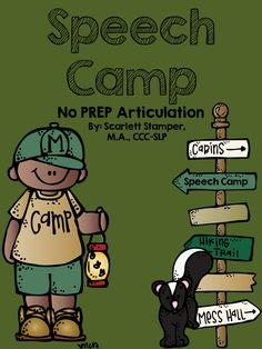Speech is Sweet: National Camping Week!