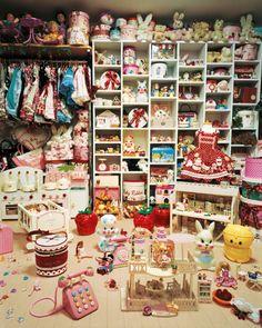 Closet of kitsch