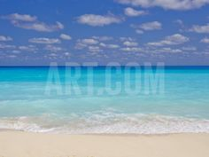 Turquoise Water and Soft Beaches Create a Paradise at Cancun, Mexico Photographic Print by Mike Theiss at Art.com