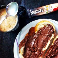Reggeli  #breakfast #nutella #coffee #nescafe