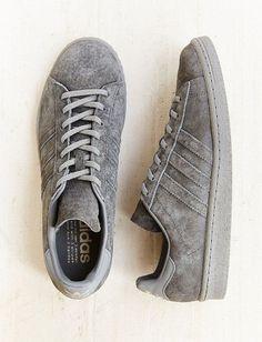 99199cc5d61735 adidas Originals Tonal Campus Sneakers grey on grey