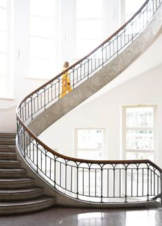 Bauhaus road trip by Melissa Hegge - Exposure Architectural Photographers, Bauhaus, Road Trip, Stairs, Architecture, Interior, Home, Arquitetura, Stairway