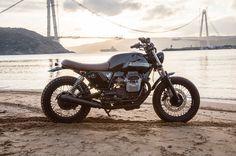 Moto Guzzi V7 By Bunker Custom Cycles Hell Kustom