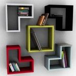 Magnificent Box Shaped Wall Shelf