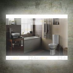 Backlit Mirror Wall Bathroom LED Vanity Mirror