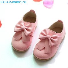 HaoChengJiaDe Candy Color Girls Shoes Casual Children Shoes New Bow Fahion Baby Girls Sneakers Kids Soft Single Shoes Size Pink Dress Shoes, Flower Girl Shoes, Bow Shoes, Flower Girls, Toddler Girl Shoes, Toddler Girl Outfits, Toddler Girls, Baby Girls, Girls Sneakers