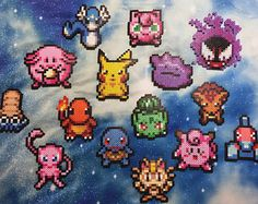 Image result for pokemon mystery dungeon perler bead patterns