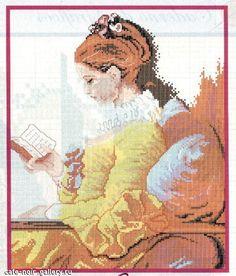 Ragazza con libro 1
