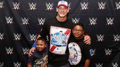 John Cena grants Cristian's wish in Dallas: photos