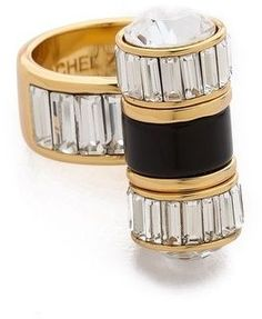 Rachel zoe Single Barrel Baguette Ring on shopstyle.com