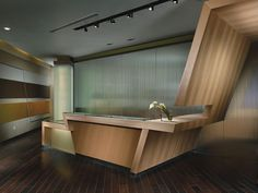 Leave It At The Reception Desk   DFD Interior Architecture and Design all for a Real Estate Company in Arizona. Seen @ Source and Design .