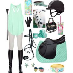 Equestrian Lilly Pulitzer style by thepreppy-equestrian on Polyvore featuring Miasuki and Lilly Pulitzer