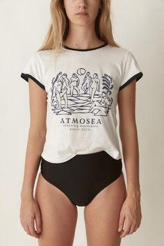 30b9025b8ae869 ATMOSEA - Mermaid Tee. S E A B O N E S
