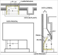 TABLA PARA MEDIDAS DE HOGAR DE CHIMENEA – ACABADO                                            Las   medidas del hogar de la Chimenea p...